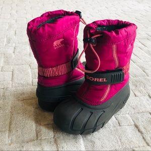 SOREL Flurry Winter Snow Boots Toddler 12